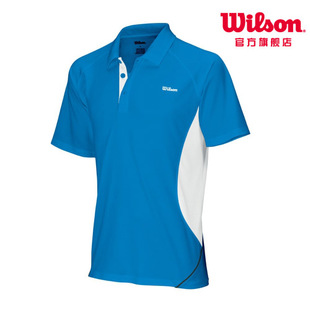 [Buy-one-get-one] Wilson/nCode tennis short sleeve  shirts clothing WRA1303