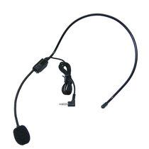 索爱 扩音器麦克风小蜜蜂耳麦话筒头戴式教师专用有线话筒通用