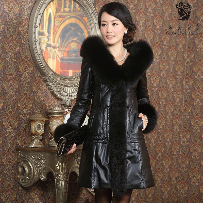 Кожаная куртка Eastern U.S. luxury 665