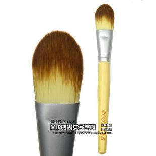Beautiful said recommend genuine! EcoTools Foundation brush cream BB cream with green bamboo handle brush with packaging