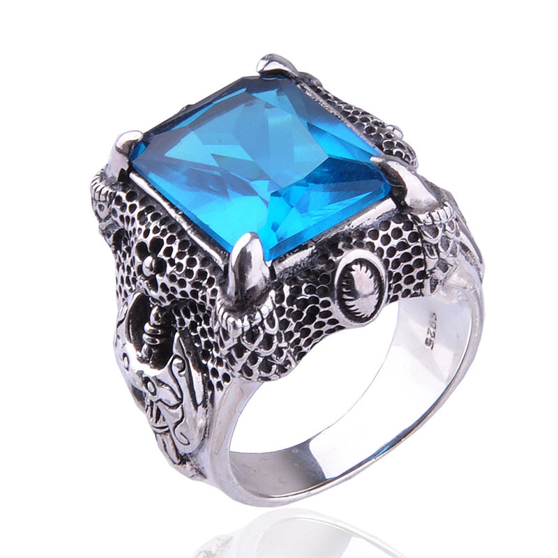Silver Rings For Boys Ring material : 925