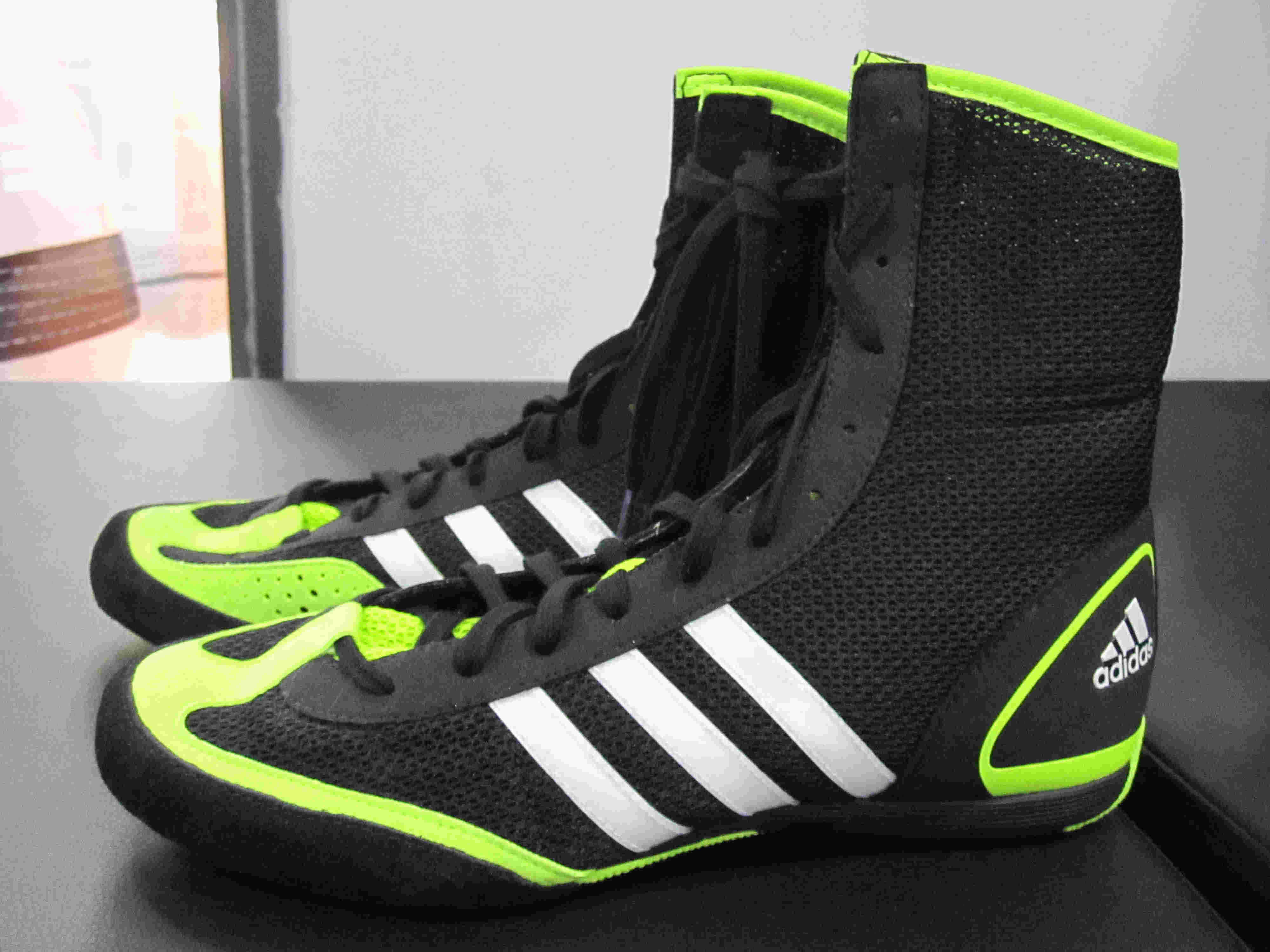 Adidas boxing shoes mid
