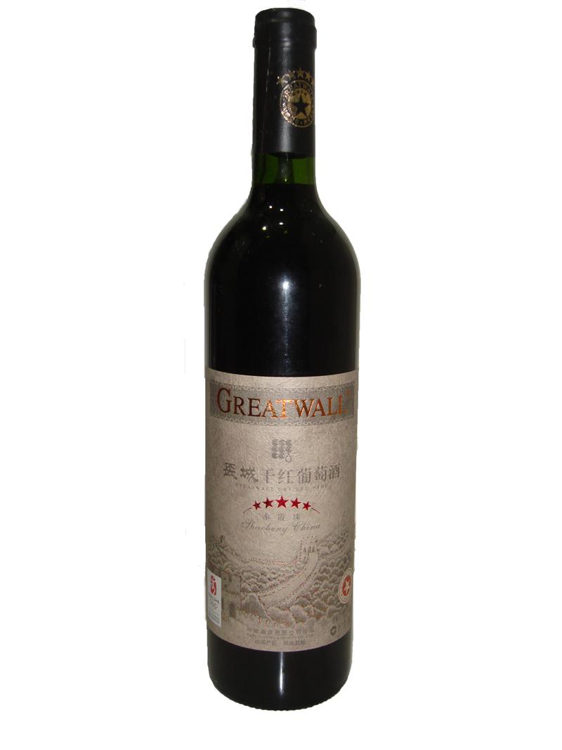 长城葡萄酒 长城红酒 干红赤霞珠 五星葡萄酒礼盒 干红葡萄酒红酒