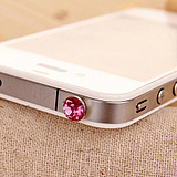 2687 Korea iphone4 rhinestone diamond dust plug ipad2 headsets plug cellphone headsets plug