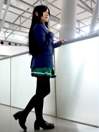 【千寻界】加速世界 黑雪姬 黑雪公主女制服 cosplay服装定做