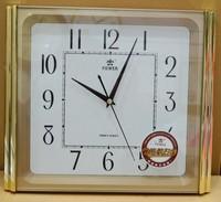 正品霸王钟表客厅挂表简约挂钟静音电子钟石英钟创意时钟美观大气