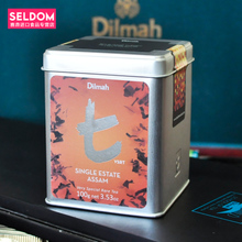 Package mail Dilmah dilma t series of Assam Ceylon tea Imported from Sri Lanka / 100 g
