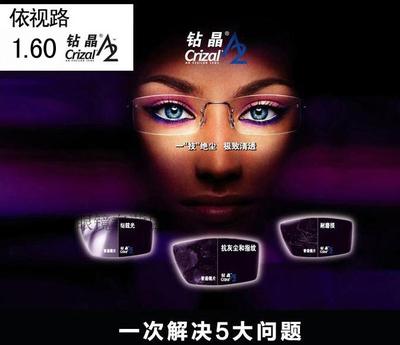 蓝光镜片 防辐射眼镜电脑镜 防蓝光非球面眼镜片 配 ...