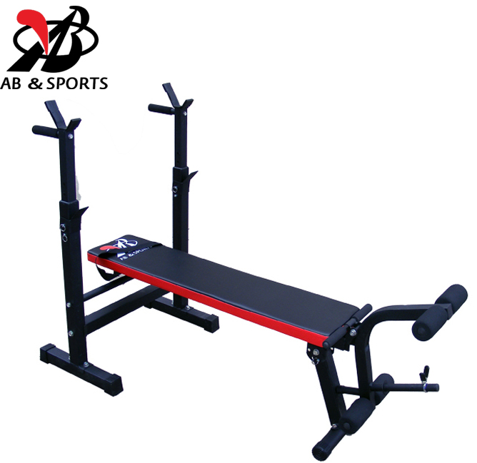 multifunction weightlifting bed bedroom and rack squat rack sit-ups barbell plate bed fitness equipment