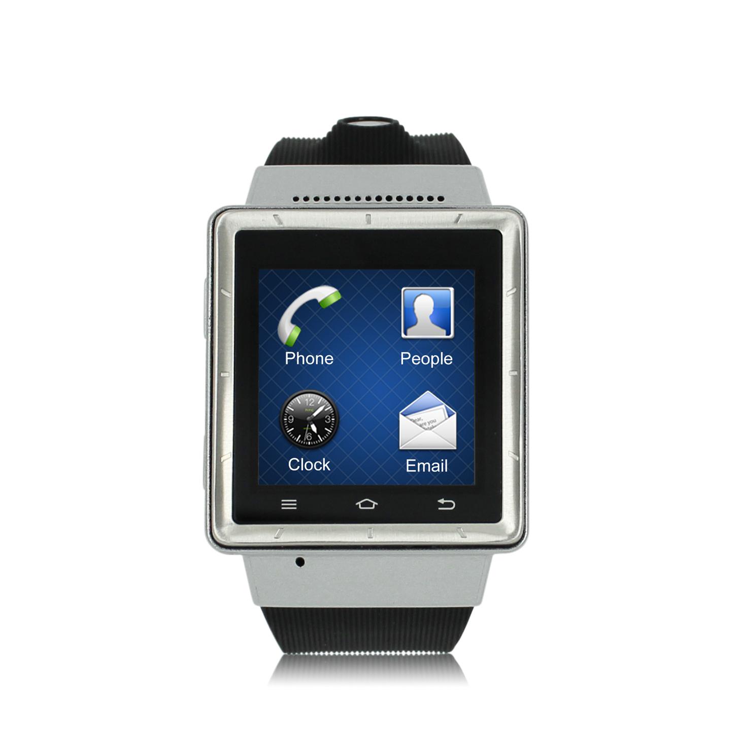 联通3g双模手机_联通3G 双核安卓智能手表手机 GPS导航 wifi微信QQ拍照 智能腕表