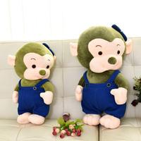 小猴子毛绒玩具大嘴猴公仔玩偶猴年吉祥物可爱布娃娃送女生日礼物