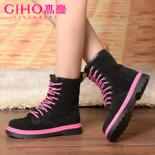 GIHO/Alfred au G43691 high quality goods bring spell color leisure fashion youth lady shoes