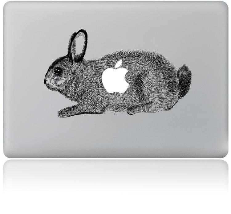 佩格ms003苹果笔记本个性贴纸macbook创意配件手绘彩