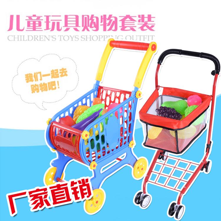 儿童早教机_儿童仿真超市购物车、手推车过家家玩具、情景玩具、环保玩具