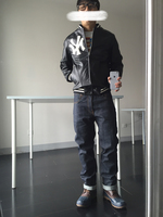 现货秒发Sup NY Yankees Leather Varisty Jacket 洋基队皮衣夹克