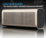 Free shipping Germany Garine metal portable wireless PC card small stereo mini handsfree 4.0 Bluetooth Speaker
