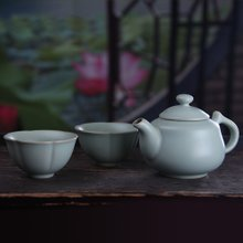ChengYi ruyi 3 head your porcelain slice open your kiln kung fu tea set special package mail dehua ceramics
