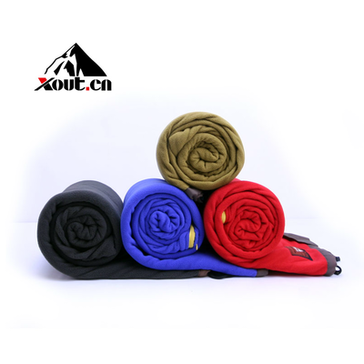 2014 new limit outdoor superfine cashmere Envelope super light and warm fleece siesta camping sleeping bag
