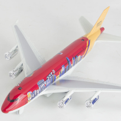 Diyaduobo tone sound 747 Airbus civil aircraft back to power Airbus aircraft children toys