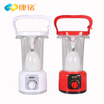 Kang Ming KM-7633T Multifunction LED Emergency Light / tent light / night market light / camping light / solar charging