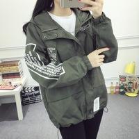 韩版新款女装秋冬季bf棒球服短外套宽松长袖夹克学生大码厚上衣潮