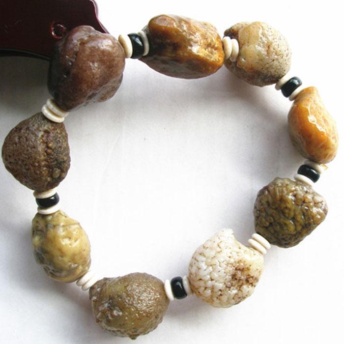 Редкий камень АЛАШАНЬ Гоби Агат камень камень браслета в Синьцзян изюм Гоби камень цвета Hi Браслеты