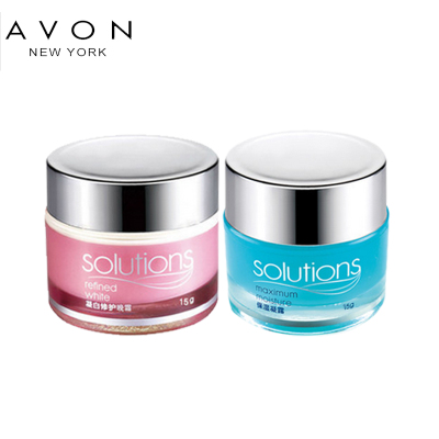 Free shipping Avon / Whitening Night Cream 15g moisture condensation group sent suit 15g