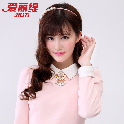 Ariel Ti 2014 new winter fashion jewelry exquisite flower necklace elegant temperament short necklace A001