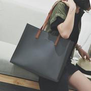 手提包女大包单肩包大容量斜挎包潮流百搭简约购物袋欧美时尚
