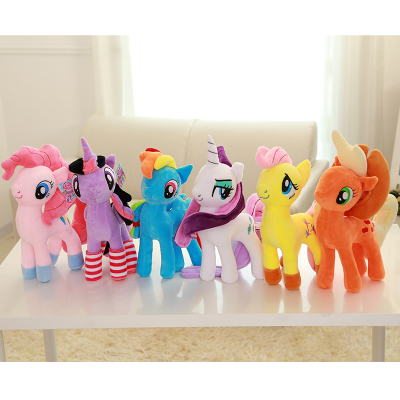 My Little Pony 彩虹小马宝莉公仔玩偶 正版毛绒玩具 公主布娃娃