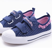 Between children's wear girls spring spring shoes cloth shoes children's shoes kids fall 10 year-old girl canvas shoes 6 7 spring model