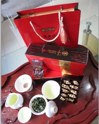 Anxi tieguanyin tea gift boxes GuanYinWang oolong tea quality goods gifts tea bag mail