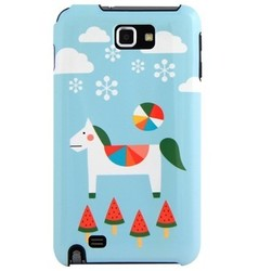 韩国进口手机保护壳 EPICASE Galaxy Note i9220 Case_Snow day
