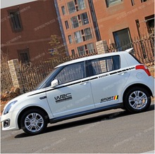 Suzuki swift car stickers SX4 ShenYao line stickers Swift cars garland autoart sticker