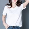 韩范宽松显瘦t恤女短袖纯色半袖夏季简约体恤上衣大码潮百搭