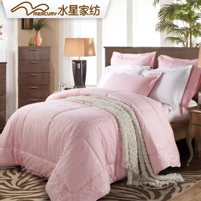 Mercury textile printed cotton wool winter is the core single or double cotton wool quilt bedding