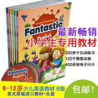 少儿英语教材小学儿童英语教材 Fantastic 6级6-12岁美式英语培训