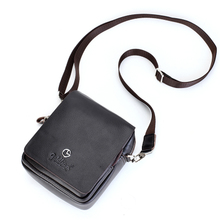 Authentic men's bags cowhide leisure mini bag Small chest pocket bag shoulder inclined bag, men bag business