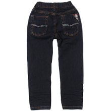 Bala bala balabala new winter The boy micro elastic Straight and comfortable Pure color jeans