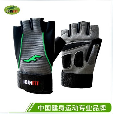 JOINFIT gloves Weightlifting gloves with wrist fitness bike riding gloves gloves thick genuine