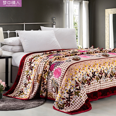 Summer dreams blanket coral carpet air conditioning blanket flannel sheets thick towels carpet of law Levin