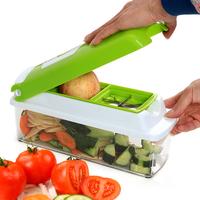 升级多功能厨房切菜神器土豆切片切丝切块刨丝器沙拉机擦片削皮器