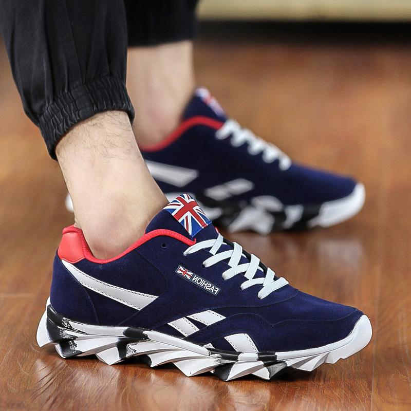 秋季夏季男士运动休闲鞋韩版学生板鞋潮流男鞋阿甘鞋男生鞋子潮鞋