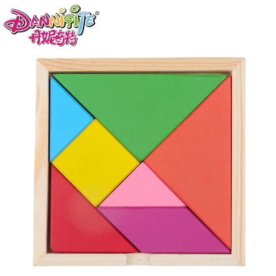 Large wooden jigsaw puzzle blocks baby toys, children's educational wooden intelligence