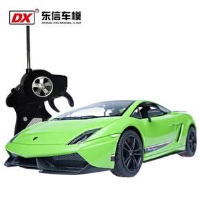 东信兰博基尼1:18超大高速飘移儿童充电方向盘玩具遥控车模型