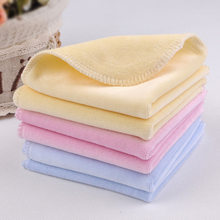 Baby small saliva towel towel towel to wipe your mouth new baby handkerchief men's and women's ultra soft children wash a face to face cloth