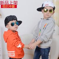 男童装2016春秋新款韩版中小童休闲衣服上衣儿童夹克衫宝宝外套潮