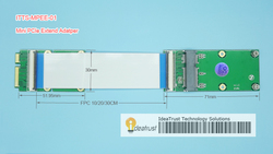 [IdeaTrust出品]Mini PCI-E/mSATA延长线 mini pcie/mSATA延长
