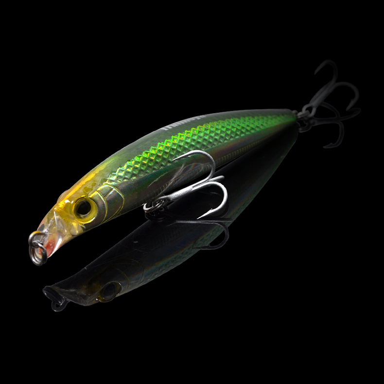 钓之屋熊王DW18 90mm10克米诺硬饵路亚饵 鱼饵渔具