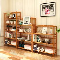 书柜书架简易学生创意书架桌上置物架现代简约组合儿童小架子落地